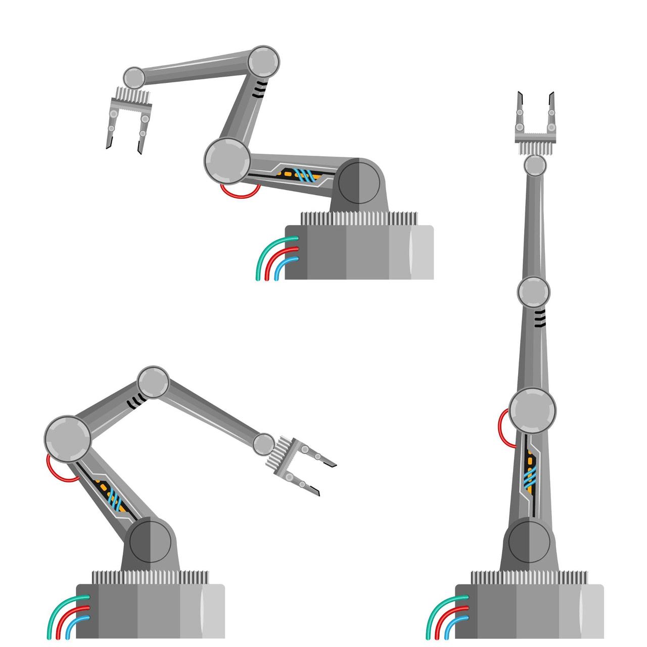 溶接ロボットの構造の補足画像